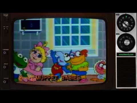 1984 - WIVB CBS Saturdays The Place Promo with Muppet Babies and Pryor's Place.