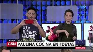 POLLO A LA CREMA en 5 minutos / Recetas de microondas (Y GRAN PIFIE en VIVO!!!) - Paulina Cocina