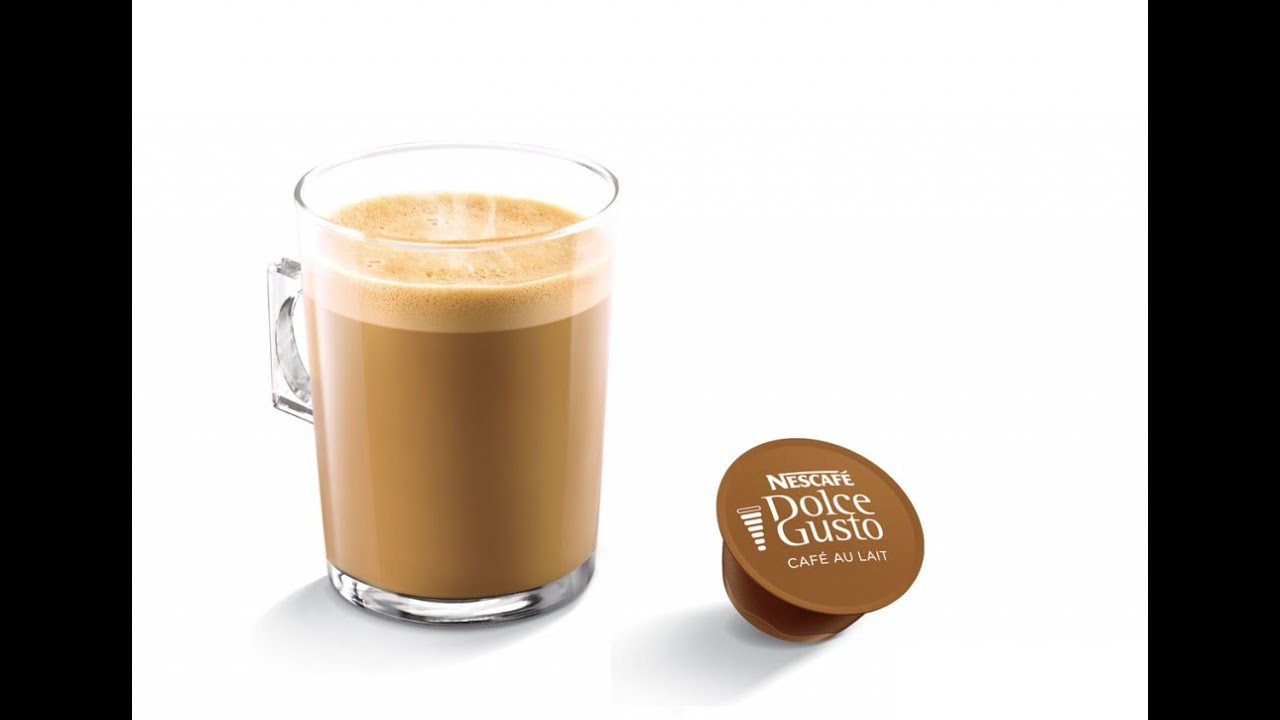 making nescafe dolce gusto cafe au lait mini me youtube. Black Bedroom Furniture Sets. Home Design Ideas