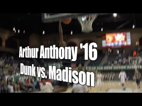 Arthur Anthony '16, Bonita Vista, Dunk vs. Madison, D3 Final, 3/4/16