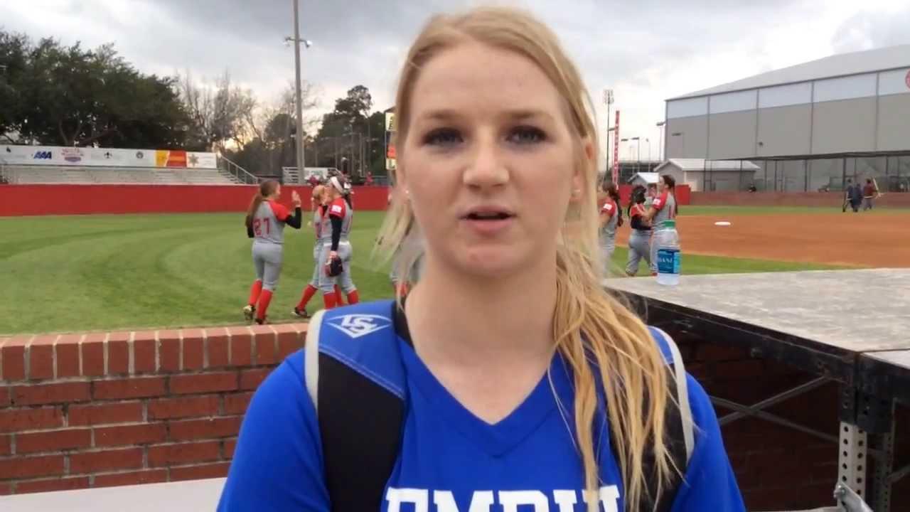 Memphis Softball Postgame - Feb. 14, 2014 - YouTube