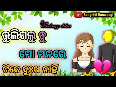 💛bhuli Galu Tu Mo Manare Tike Dukha Nahi Odia Whatsapp Status 💛humansagar Song 💚💚