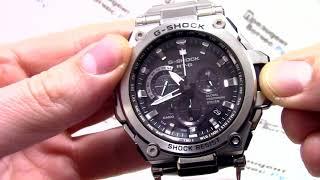 Годинник Casio G-SHOCK MTG-G1000D-1A - Інструкція, як налаштувати від PresidentWatches.Ru