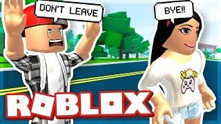 MY GIRLFRIEND LEFT ME!! - ROBLOX
