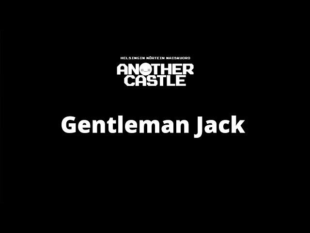 Another Castle sings Gentleman Jack