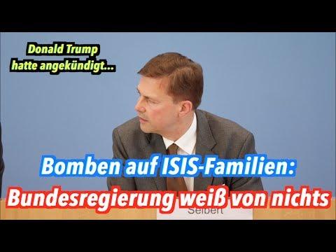 US-Angriff auf Familien & Kinder von IS-Kämpfern in Syrien: Bundesregierung weiß von nichts