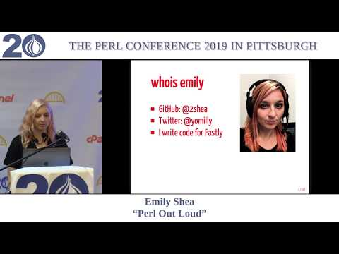 "Emily Shea - ""Perl Out Loud"""
