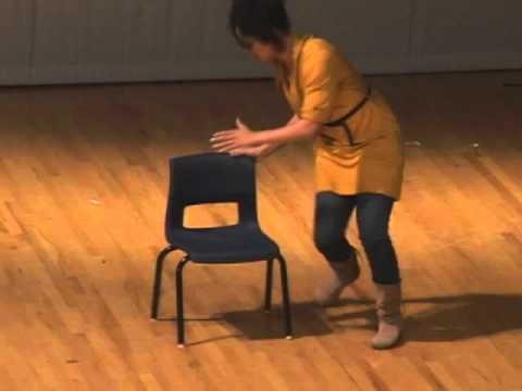 Zilika Millett performs a dance routine at the Berkely Talent Show 2011