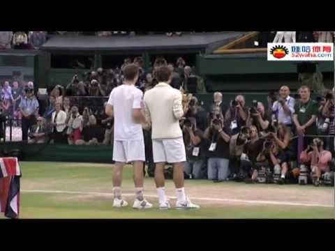 "[HD] Andy Murray vs Roger Federer ""WIMBLEDON"" 2012"