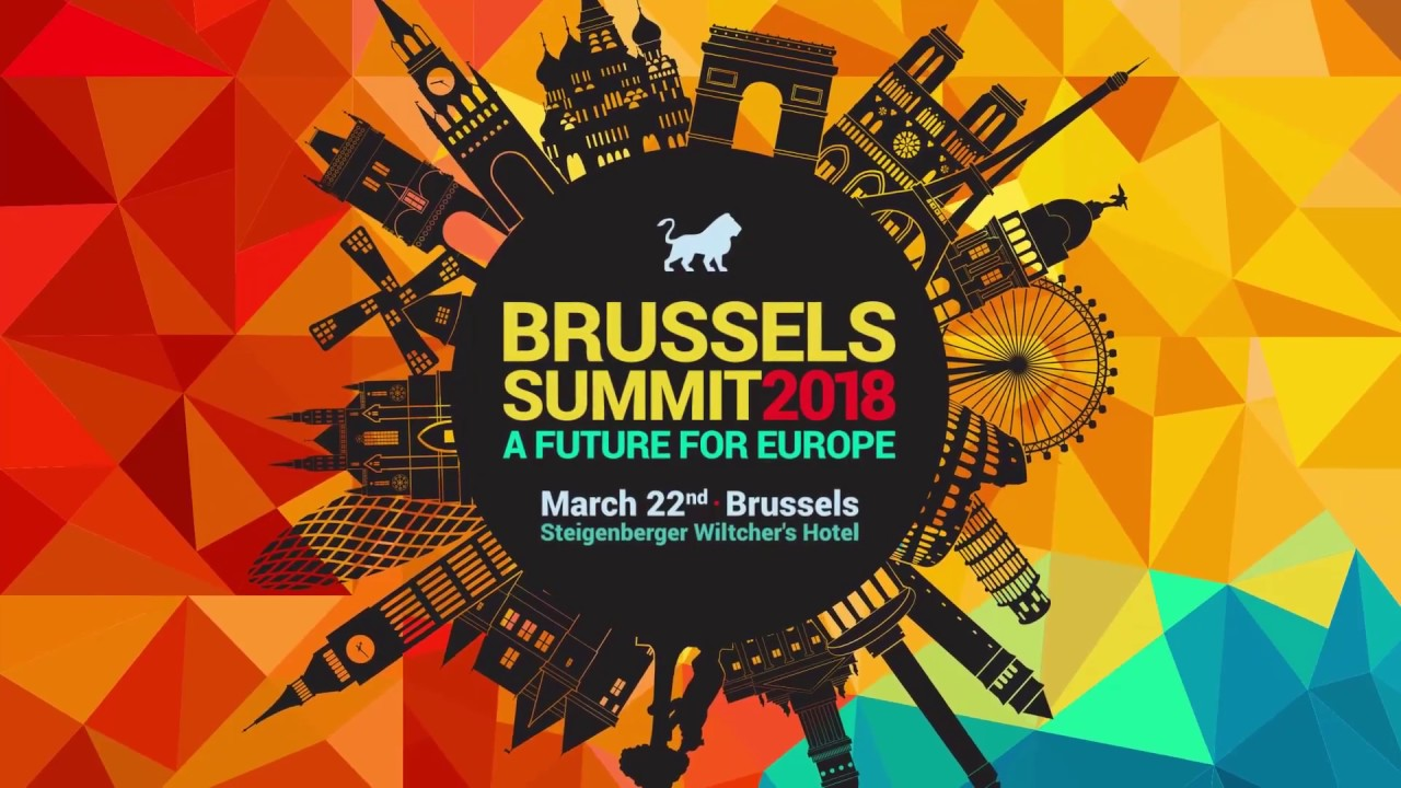 """Brussels Summit 2018 """"A Future for Europe"""" 