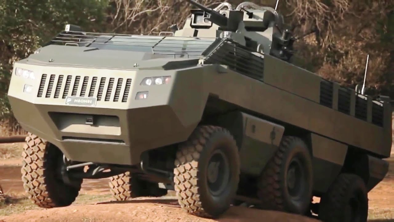 Paramount Group Mbombe 4x4 Amp 6x6 Infantry Fighting