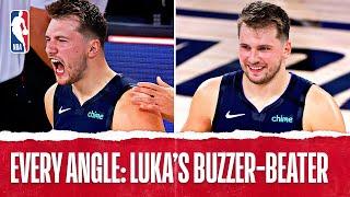 Every Angle: Luka Hits OT #TissotBuzzerBeater To Win Game 4!