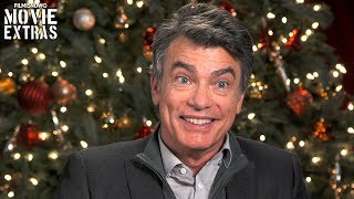 A Bad Moms Christmas | On-set visit with Peter Gallagher - Amy's Father