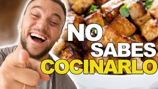 6 FORMAS FÁCILES DE COMER TOFU | ¡Aprende a cocinarlo!