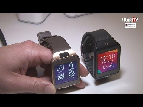 [MWC 2014] Galaxy Gear 2 et Gear 2 Neo : les deux nouvelles montres connectées de Samsung