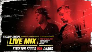 Yellow-Stripe Live Mix : Sinister Souls b2b Dkaos (2014)