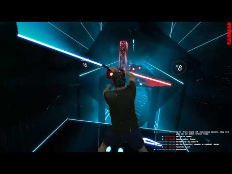 Beat Saber - Beat Saber (title track) - Expert - Darth Maul style - COMPLETED - Beat the bombs