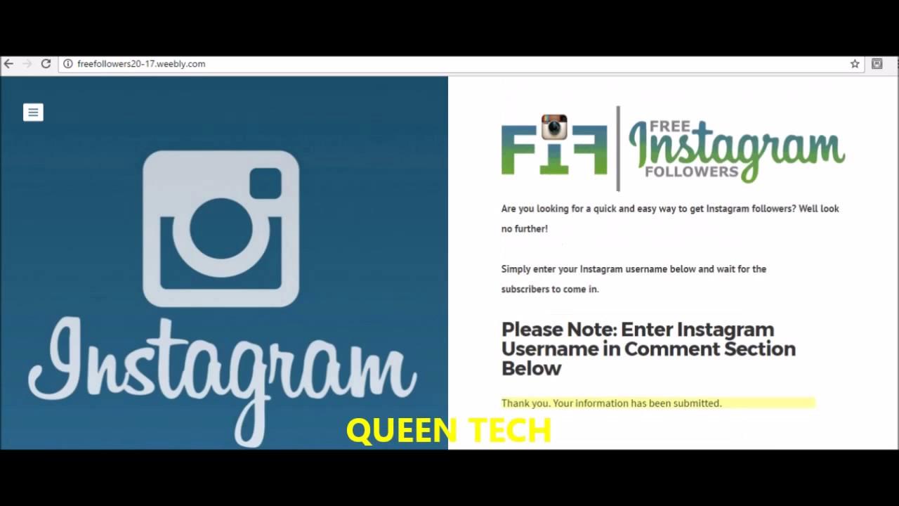 Get Real Instagram Followers Fast Free - Norlako 6655 la
