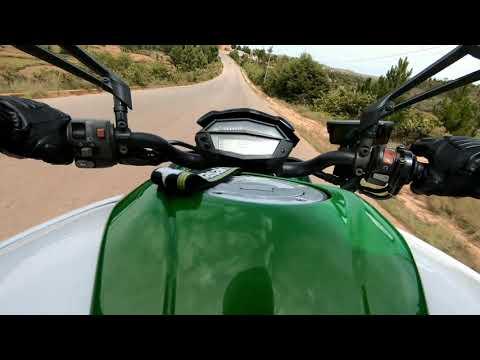 On board of the wild Kawasaki Z1000