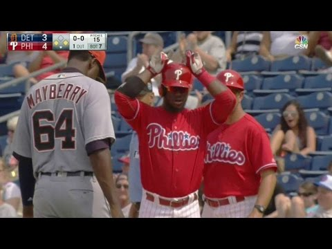 DET@PHI: Herrera hits a go-ahead single in the 7th