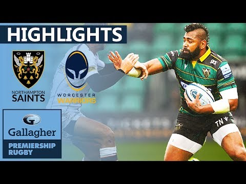 Northampton 35-16 Worcester HIGHLIGHTS | 5 Tries Scored In 2nd Half! | Gallagher Premiership 2019/20