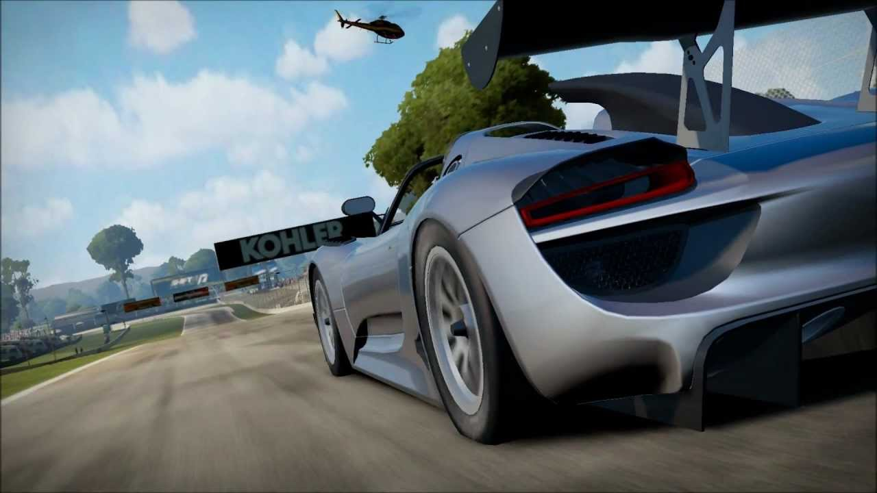 need for speed shift 2 review of porsche 918 spyder concept study pc hd youtube. Black Bedroom Furniture Sets. Home Design Ideas