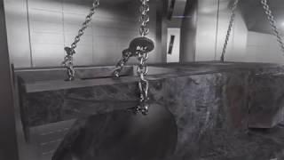 Strahltechnik - Die fantastische Reise eines Strahlkorns -  A fantastic Abrasive Trip