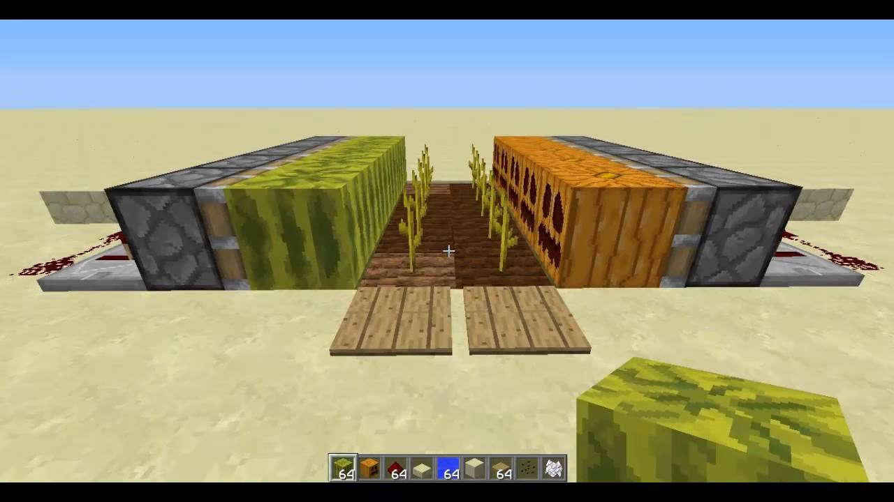Minecraft Watermelon Farm