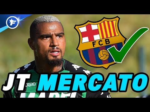 Kevin-Prince Boateng arrive au FC Barcelone  Journal du Mercato