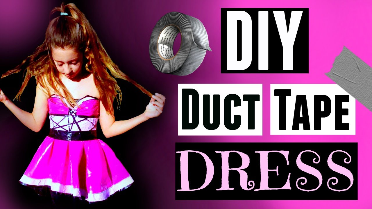 Watch How to Make a Duct Tape Dress video