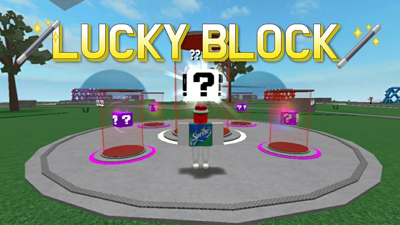 [로블록스]LUCKY BLOCK 럭키블럭 운게임!