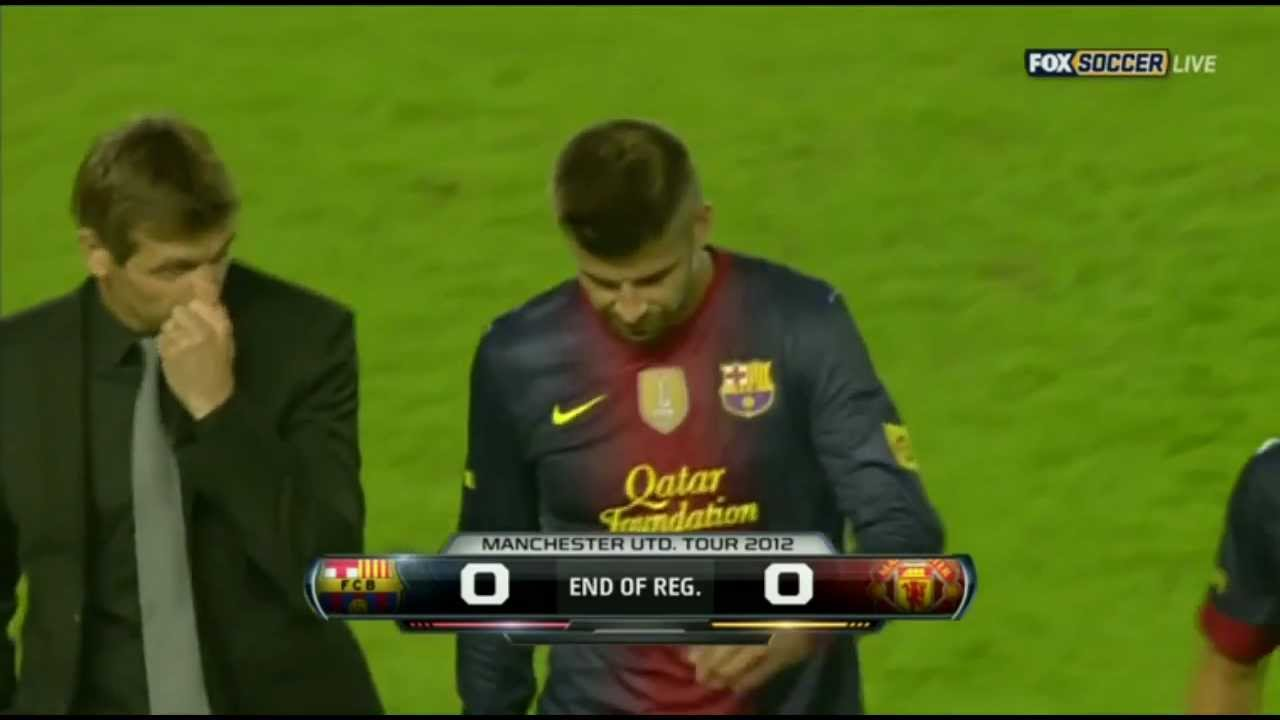 Manchester United Vs Manchester City 2012 Full Match: Barcelona Vs Manchester United 0-0
