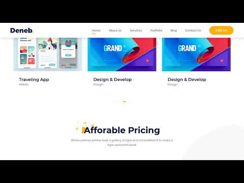 Xplore - Multipurpose Website Templateиз YouTube · Длительность: 1 мин22 с