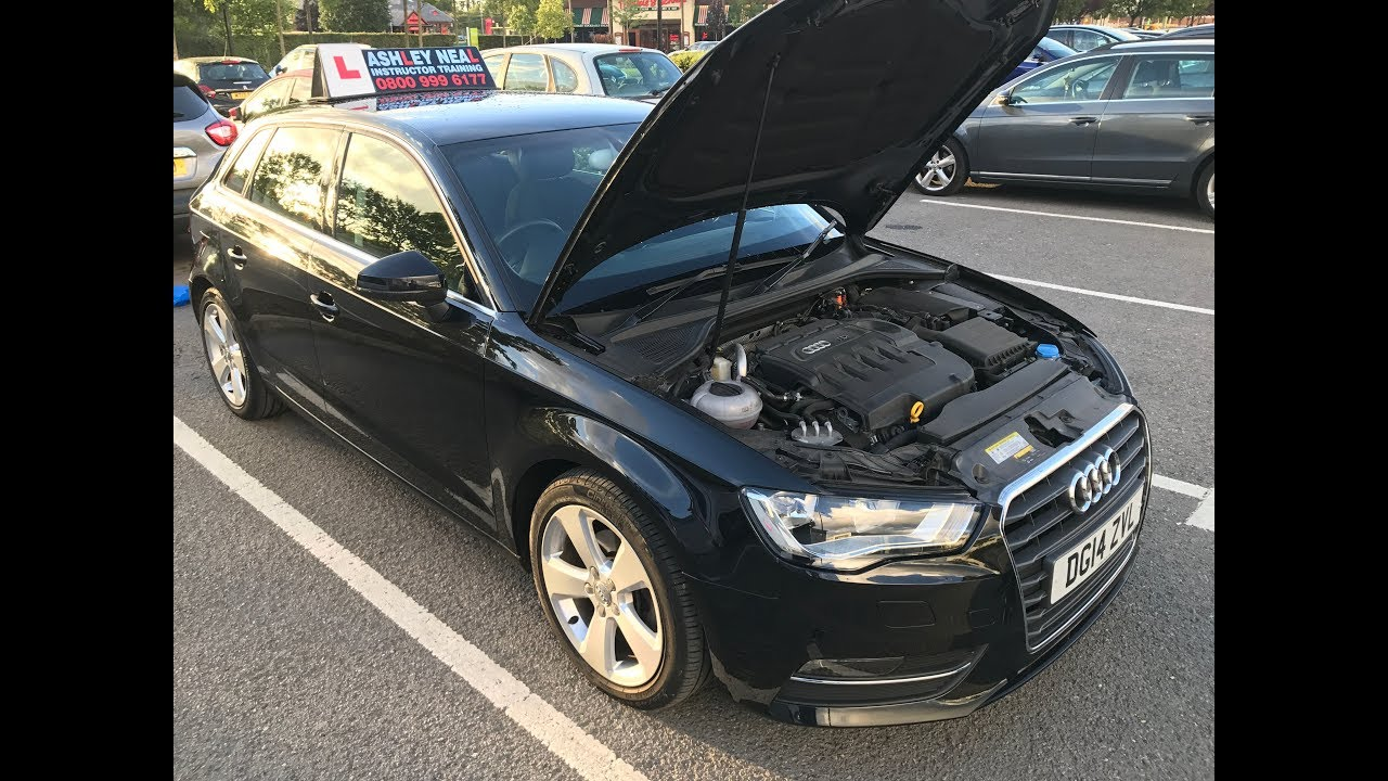 Audi A3 Under Bonnet Checks - YouTube