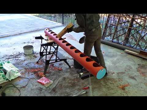 видео: Клубника в трубах. Первый опыт.