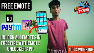 How To Unlock All Emotes in Free Fire With Emote Unlocker App | New Free Emotes Trick 2021 Tamil screenshot 4
