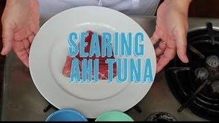 How To Sear An Ahi Tuna Steak