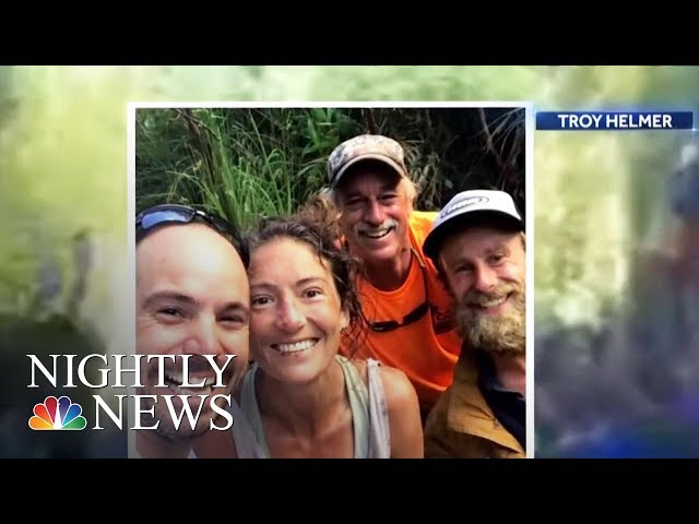 Hiker Found Alive After More Than Two Weeks In Hawaii Forest | NBC Nightly News