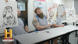 The Strongest Man in History: Painting Challenge | Exclusive | History