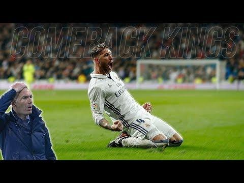 Real Madrid Crazy Comebacks Under Zidane ● WOW 😮