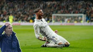 Download Real Madrid Crazy Comebacks Under Zidane ● WOW 😮 Mp3 and Videos