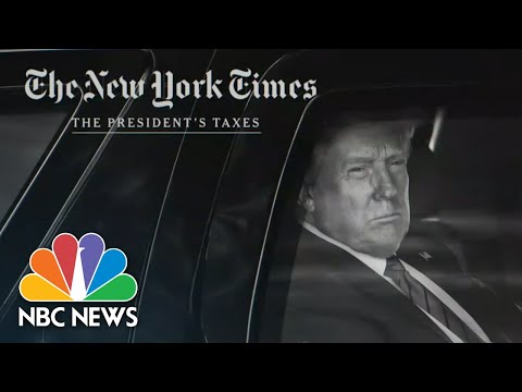 Growing Fallout After Bombshell New York Times Report On Trumps Taxes