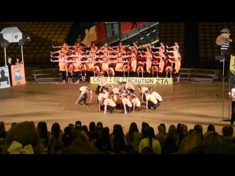 JMU Zeta Tau Alpha Greek Sing 2014