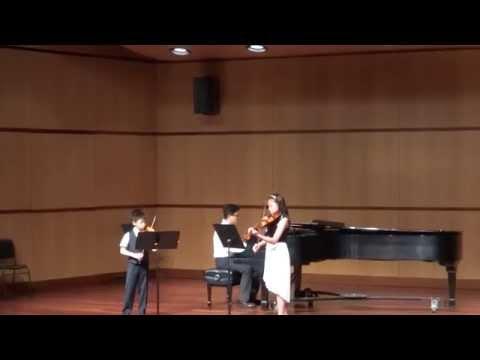 Hornpipe from Water Music in D Trio Recital - G.F. Handel