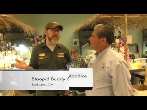 The Mayor's Show visits Stoopid Buddy Stoodios. The folks behind Robot Chicken...!!!