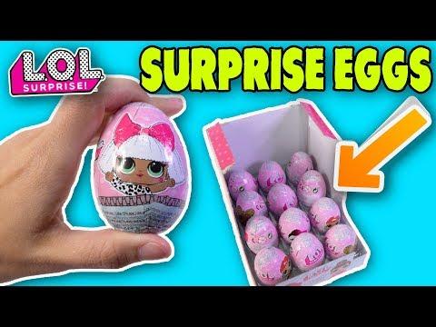 BRAND NEW LOL DOLL SURPRISE EGGS | CHOCOLATE LOL SURPRISE EGGS