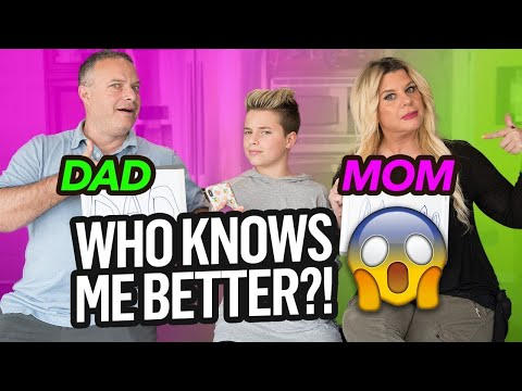 Who KNOWS Me Better CHALLENGE! (Mom vs Dad) | Gavin Magnus