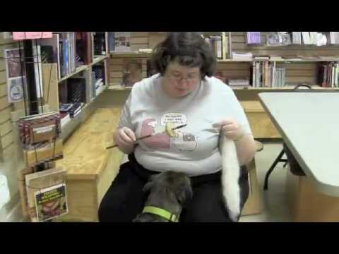The Woolery Demonstrates Blackfoot Spindle Spinning