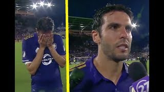 Download Video KAKA in TEARS after Last GAME for ORLANDO CITY !!! MP3 3GP MP4