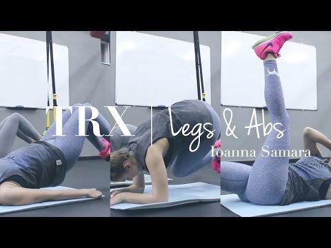 TRX part 1 Legs & Abs | Ioanna Samara
